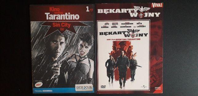 Sin City, Bękarty wojny, Autostopowicz, Oszukana, Casino i inne DVD