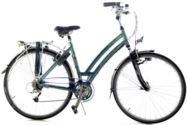 Rower Holenderski Miejski - Trekkingowy Damski Gazelle Geneve 49 cm