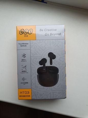 QCY HT03. Bluetooth наушники с функцией активного шумоподавления.