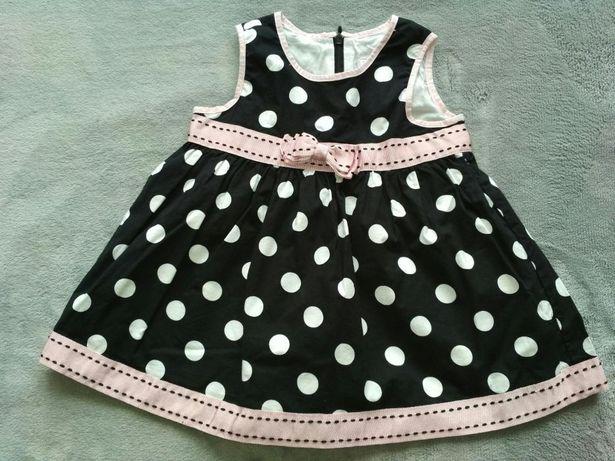 Sukienka dziewczęca place 12 -18 miesięcy