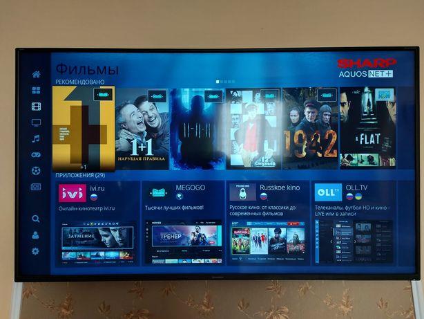 """Телевізор 65"""" Sharp 4K (3840x2160) LC-65CUG8052E Smart TV/Т2-тюнер"""