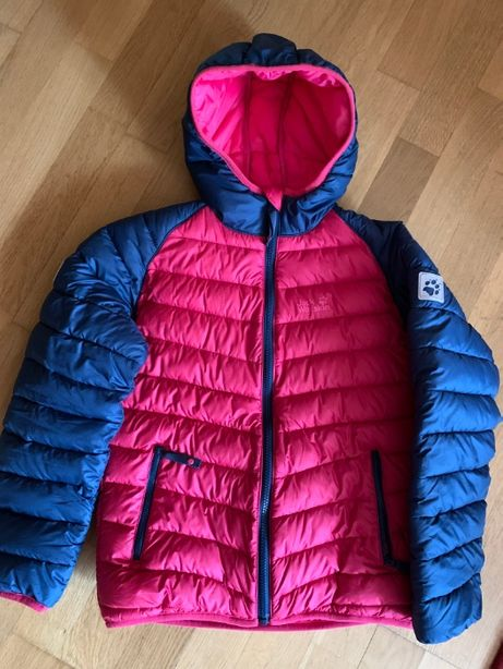 Куртка прошита Jack Wolfskin, на дівчинку ріст 140 см.