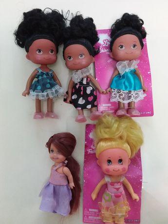 Коллекционные куколки 12,7 см для деток 3+