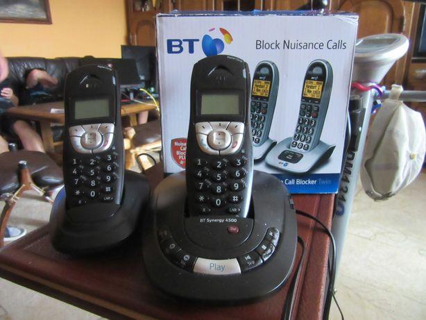 Telefon stacjonarny z telefonem dodatkowym