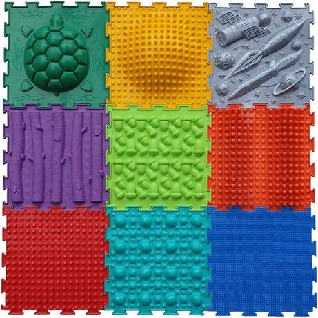 Ортопедический коврик, массажный, модульный Ортодон, коврик пазл