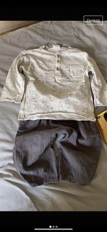 Sprzedam bluzke w cętki zara 12-18 mscy