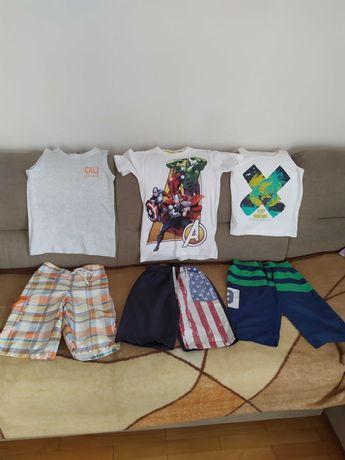 Paczka ubrań dla chłopca rozmiar 122 128