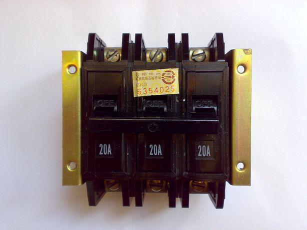 Автоматический выключатель трехфазный модуль BH-50AF Корея АК63-3М ГУ3