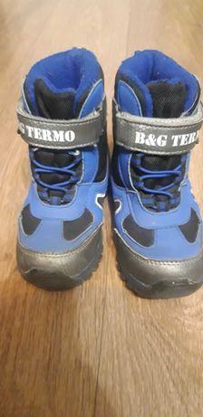 Зимние термо ботинки на мальчика BG