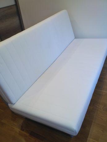 sofa kanapa Ikea typu Nyhamn + narzuta kolor turkusowy(brak zdjęcia