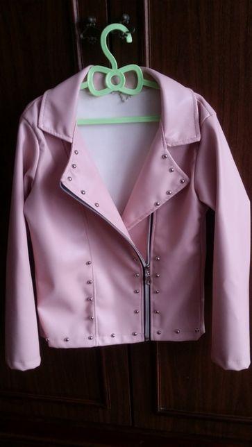 Куртка демисезон курточка косуха эко кожа / еко шкіра