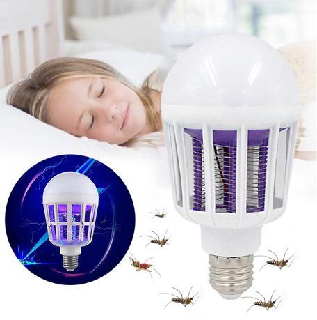 ЛЕД лампа-уничтожитель насекомых