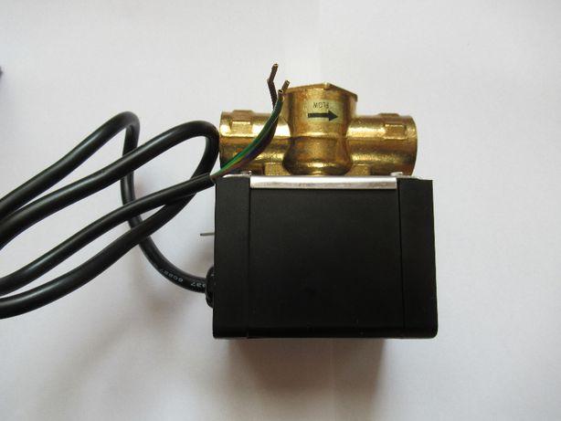 Zawór elektryczny do wody gorącej lub zimnej