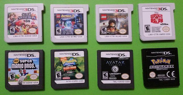Игры для Nintendo 3DS (Smash Bros и др)