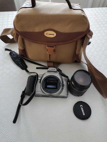 Canon eos 3000 + lente + mala