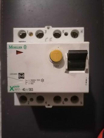 Устройство защитного отключения (УЗО) Moeller (Eaton) PF-7, 40А, реле