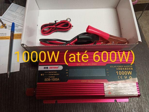 Inversor 12V ou 24V para 220V 150W 500W