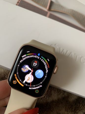 Apple Watch 4 , 40 mm Rose Gold