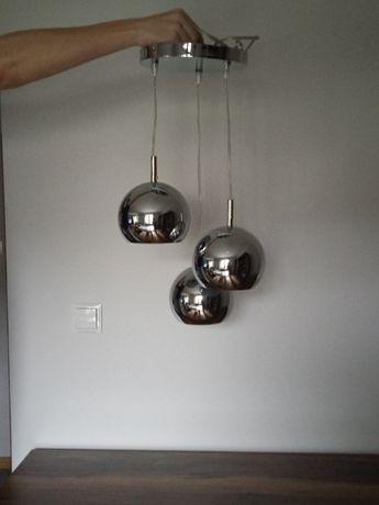lampa wisząca, żyrandol 3 klosze
