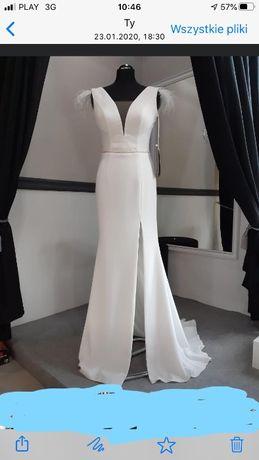Suknia ślubna bardzo elegancka
