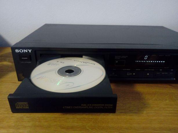 Odtwarzacz CD Sony CDP 470,wzmacniacz,tuner.