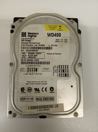 Disco Duro IDE 40G  Western Digital