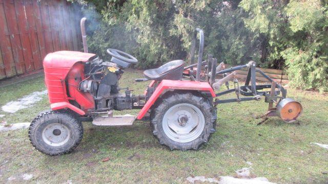 traktor sam, s301d , dzik 2