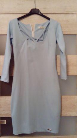 Sukienka błękitna Morris