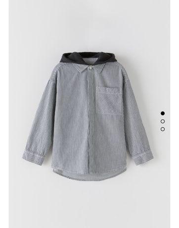 Новая zara рубашка куртка на мальчика 4 года 5 лет детская