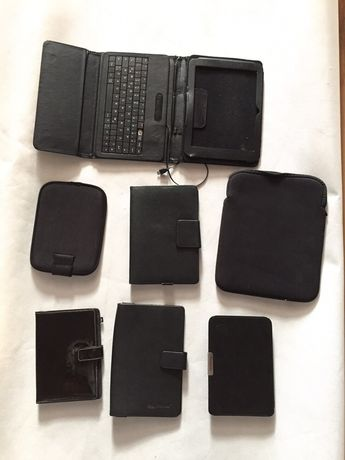 Zestaw 10 pokrowców do tableta telefonu saszetka klawiatura zestaw Hit