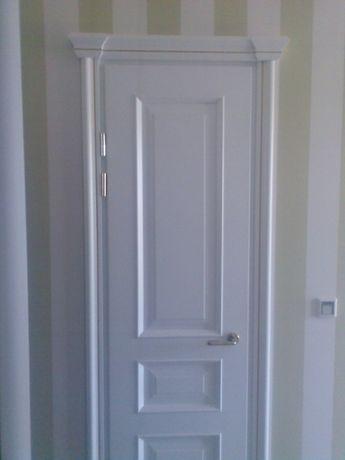Установка межкомнатных дверей, укладка ламината, монтаж плинтуса