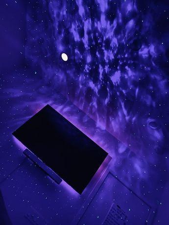 Projektor gwiazd głośnik bluetooth-śliczny efekt w twoim domu.