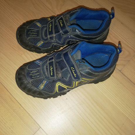 Świecące buty clarks 30 chłopiec dinozaur rzepy mocne