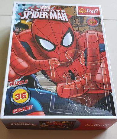Puzzle 36, Trefl, 3+, duże SPIDERMAN