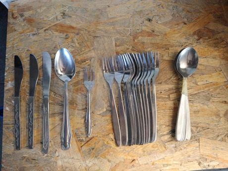 Sztućce, łyżeczki, łyżki, noże, widelce ostatnie sztuki
