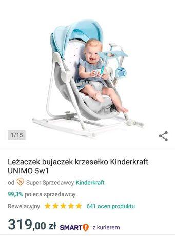 Leżaczek bujaczek 5w1 Kinderkraft