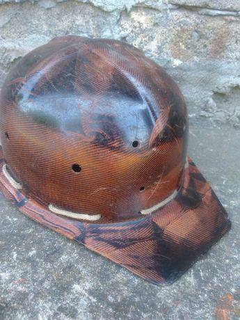 Hełm górniczy 50/60 lata - bakelit