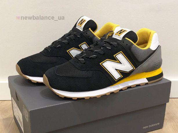 Кожаные New Balance 574 Кроссовки Оригинал Новые Мужские nike Обувь