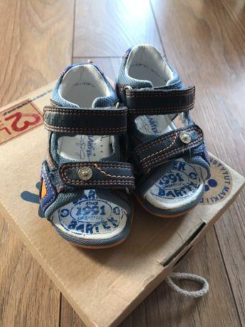 Sandały dla chłopca Bartek, 50zl- cena z przesyłką!