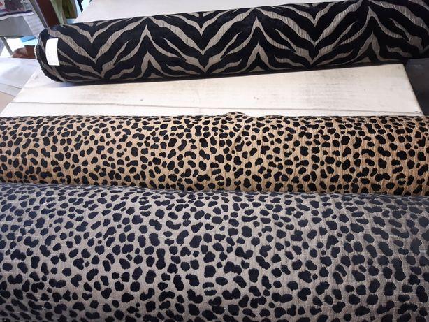 Tkanina obiciowa dekoracyjna 2 wzory