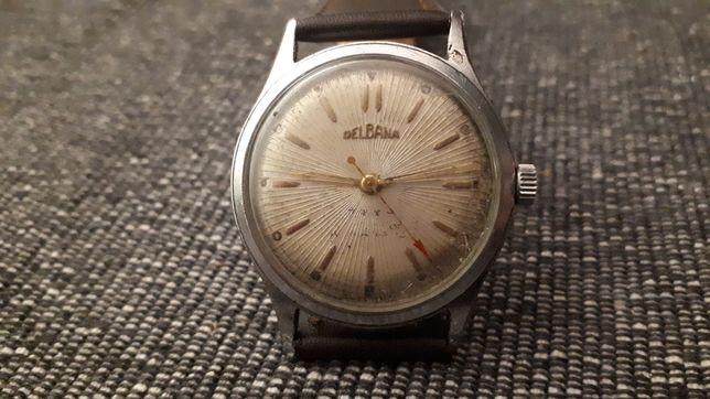 Stary śliczny zegarek DELBANA 17 JEWELS Galeria Sztuki