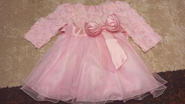 Продам нарядное детское платье (80 р.)