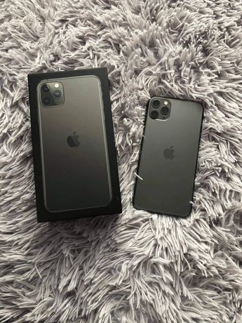 Jak nowy Iphone 11 pro max 64 gb space grey