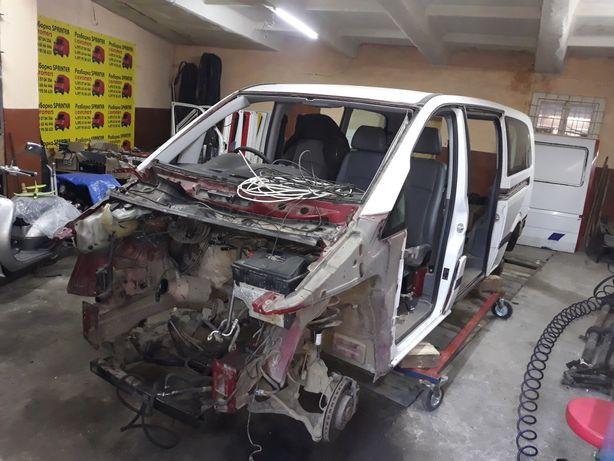 Кузов mercedes vito 639 extra long на 2 роздвижные двери,ляда,луженый
