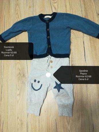 Sweterek Lupilu dla chłopca i spodnie Pepco