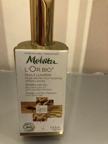 Масло для тела и волос с мерцанием L'or Bio