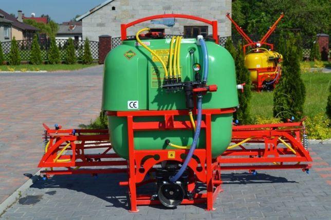 Opryskiwacz 400 litrów lanca 12m/V głowice podwójne opryskiwacze nowe