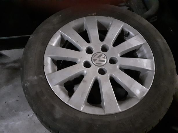 Jantes Especiais W Passat Originais 16 com pneus Continental