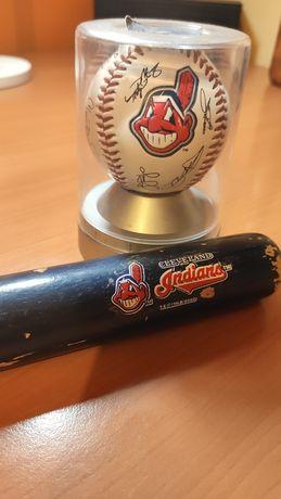 Taco e bola de baseball Cleveland Indians