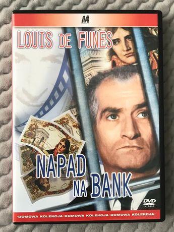 """Louis De Funes - """"Napad na bank"""" - DVD (polski lektor)"""